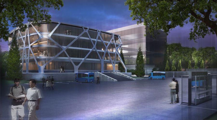 дизайн 3d Image Urban Landscape Landschaft Buildings