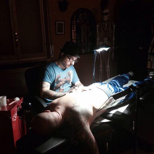 Getting Inked Tattoo