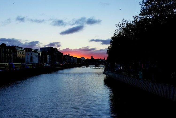 and that evening the sky over dublin caught fire Reflection Water Cloud - Sky Sky Vacations No People Outdoors City Building Exterior Cityscape Day Photography Aesthetic Awesome Amazing Fotografie EyeEmNewHere The Week On EyeEm Pretty Beautiful Beauty In Nature Scenics City Sunset Dublin The Street Photographer - 2018 EyeEm Awards The Traveler - 2018 EyeEm Awards The Great Outdoors - 2018 EyeEm Awards