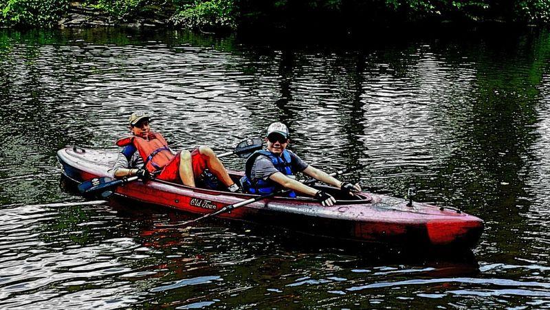 Double trouble. Mybikeride EyeEm Nature Lover Kayak The Storyteller - 2014 Eyeem Awards