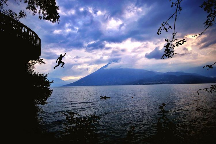 Water Nature Adventure Lake Sky Flying Explore Exploring Travel Beauty In Nature Let's Go. Together.
