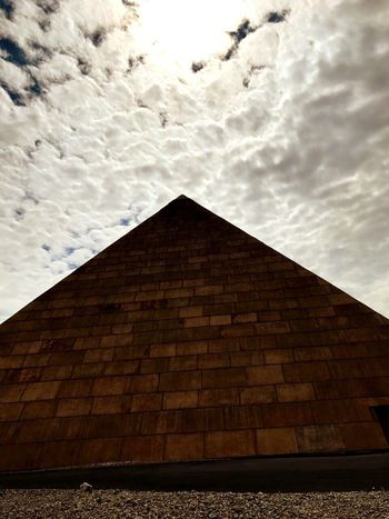 Architecture Cloud - Sky Pyramid Ancient Civilization Day a very funny day at Belantis