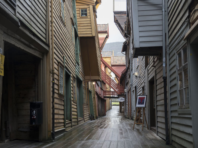 Architecture Colour Of Life Daily Life Hansa Norway Norwegian Landscape Old Buildings Old Town Springtime Traditional