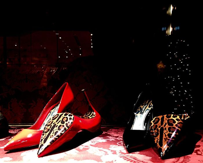 Nice Shoes Red Shoe No People Indoors  Night Close-up Light And Shadow Fragility Lighting Equipment EyeEm Best Shots EyeEm