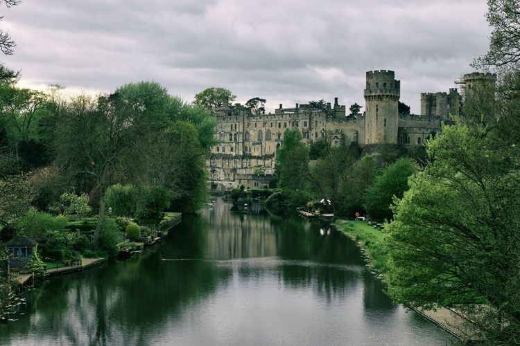 Warwick Castle Architecture Britain Canal Walks England, UK Great Britain Historical Building Nature River Avon Architecture Building Exterior Canal Cloud - Sky England Historic History Nature Nature_collection Outdoors Reflection River Travel Destinations Uk Warwick Castle Water