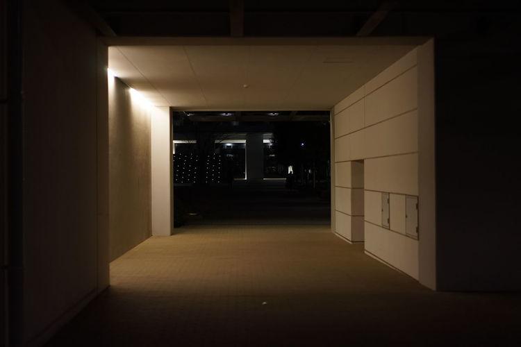 Door Indoors  No People Illuminated Night Network Server Minimalist Architecture
