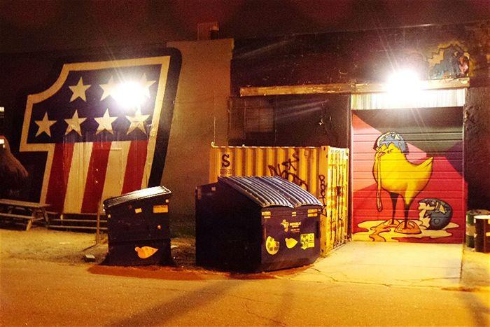 Night Change Is Everywhere Denver Colorado  Street Art/graf