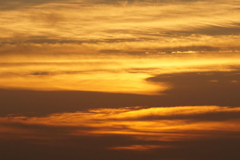 Beauty In Nature Cloud - Sky Dramatic Sky Majestic Nature No People Orange Color Sunset Yellow