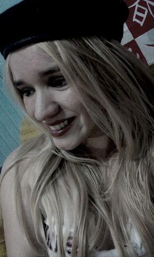 Smile. Me Girlbeautifuly Night Photomood