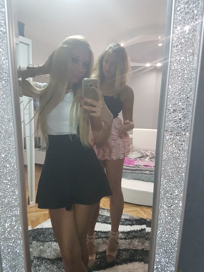 Two People Perfection❤❤❤ Night Out Awesome Ready To Go Friends ❤ Kiss ✌ We Look Cute<3