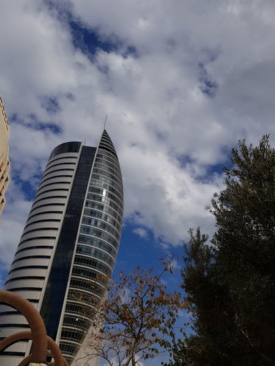 Architecture Low Angle View Built Structure Modern City