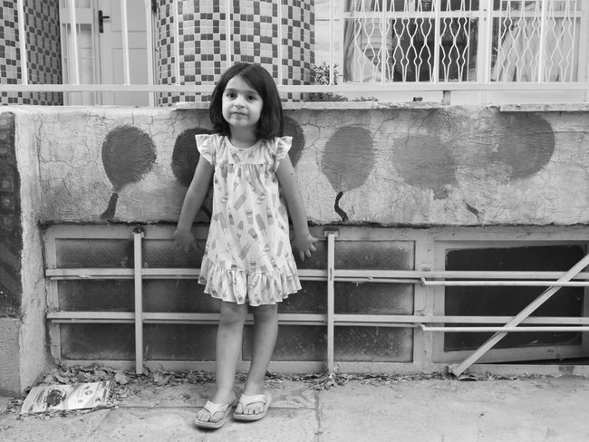 Black & White Childhood Little Girl Little Lady