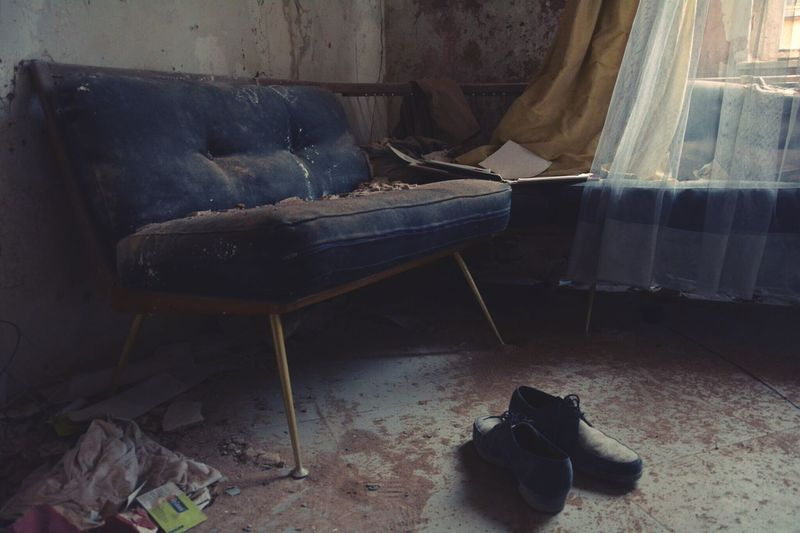 Urbex Urbexing Lostplaces Lost Places Praxis Dr. Anna's House Urbexphotography The Photojournalist - 2016 EyeEm Awards Abandoned Abandoned Buildings Sofa