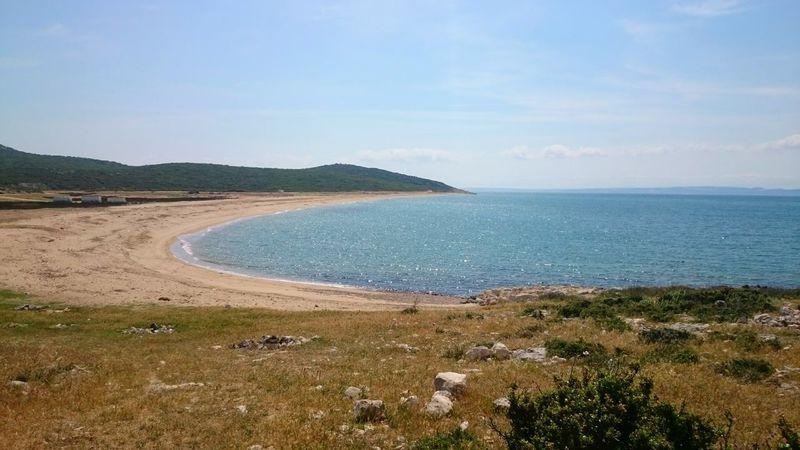 Türkiye Edirne Keşan çanakkale Saros Körfezi Eriklisahili Uzunkum Plajı