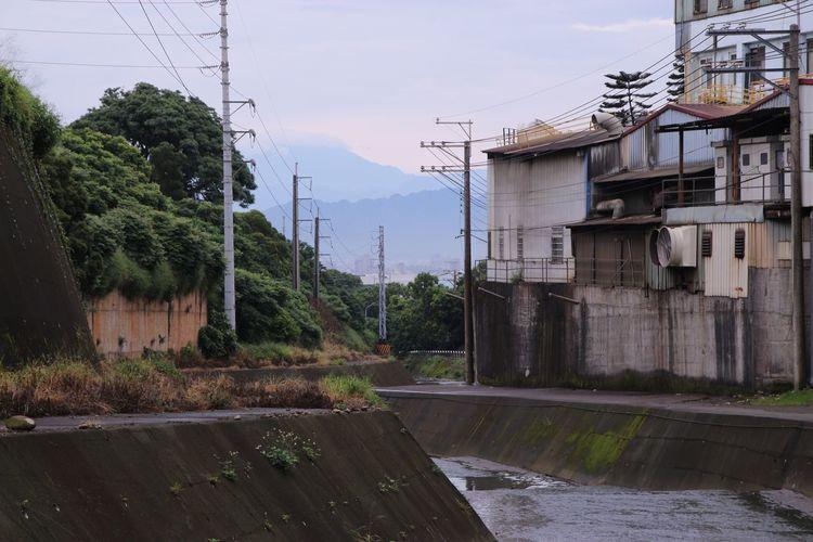 Landscape City Building Dam Ways Taichung City Taiwan