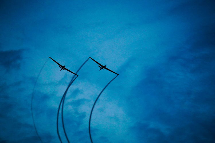 Air ballet Airshow Colours Sky And Clouds Smoke Teamwork Technology I Can't Live Without Airgliding Airplane Bias2017 Birds Blue Cooperation Day Fuel And Power Generation Industrial Windmill Low Angle View Mood Nature No People Outdoors Sky Smoketrail Synchronized Technology Vapor Trail