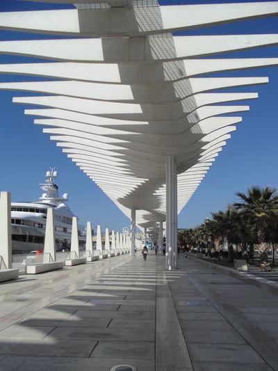 Architectural Column Architecture España Malaga Modern Puerto De Malaga Puerto Málaga Sky Sunlight Sunny Tourism