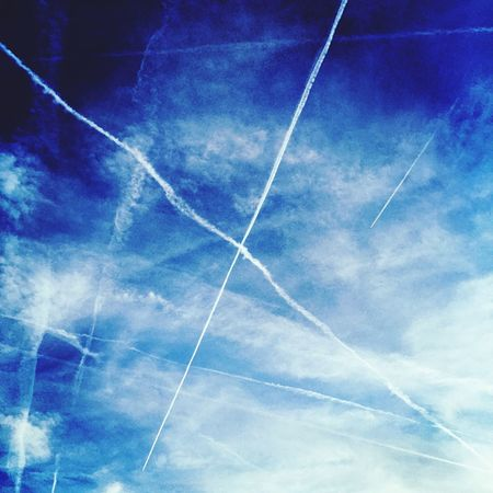 Destination X. Where are you going? Sky Clouds Jets Flying Aviation Traveling X X Marks The Spot Vacation Getaway  Holiday Airplane Blue Blue Skies Air Travel  Air Line