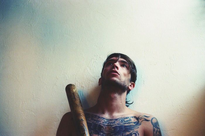 Self aware ~ Kodak Gold Expired Film 35mm Film Canonphotography Self Portrait Tattoo Film C41 Filmisnotdead No Filter No Filter, No Edit, Just Photography Kaleb M. Starr Portrait Photography Portraits Analogue Photography Lifestyles Baseball Bat Tones TakeoverContrast Tattoo Life