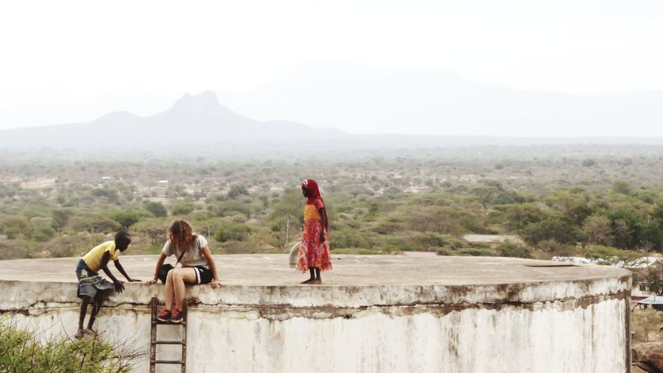 People Outdoors Women Mountain Day Young Women Togetherness Rural Scene Young Adult Nature Beauty In Nature Friendship Africa Kenya Desert