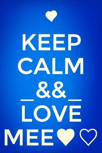 Keep Calm✋✋