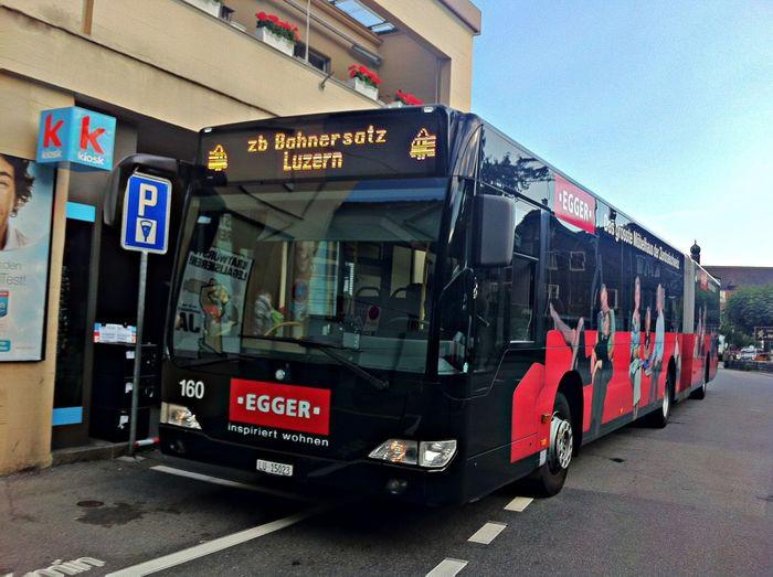 Bahnersatz Zentralbahn Luzern Hergiswil Bahnersatz Verkehrsbetriebe Luzern VBL