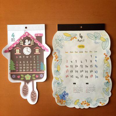 こんにちは。よろしくエイプリル⚘ カレンダー Calendar 4月 エイプリル April