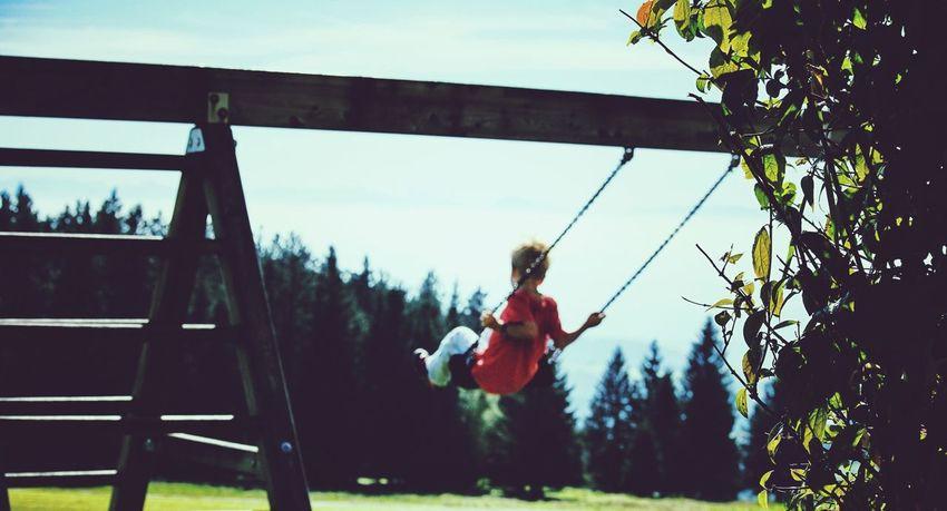EyeEm Kids Having Fun Swinging Beauty In Ordinary Things
