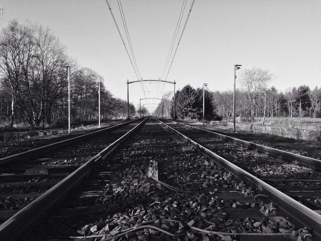 Vision Landscape Instagram Nature Train Tracks