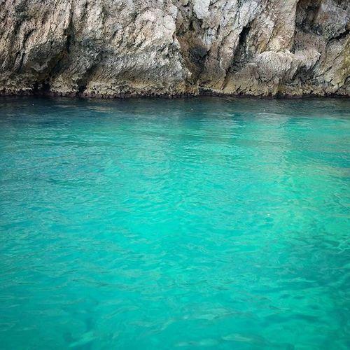 Boat Sicily Sicilia Seaalwayswins Sea Psnsummer2015 Limpido Crystal Smeraldo Taormina Isolabella