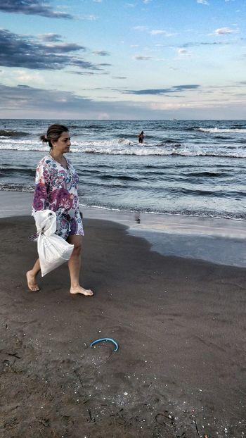 Valencia✌ Playa Malvarosa Mar