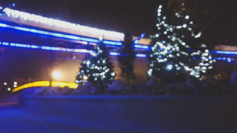 Defocused Nightlife Close-up Christmas EyeEm Christmas Photography Christmas Tree Tree Christmas Decoration Illuminated Eyem Chistmas