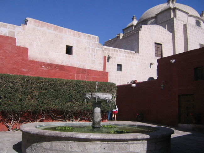 Architecture Arequipa Arequipa - Peru Building Exterior Built Structure Day Monastary Monasterio De Santa Catalina One Person Outdoors Water