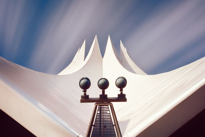 Low Angle View Of The Tempodrom Against Sky