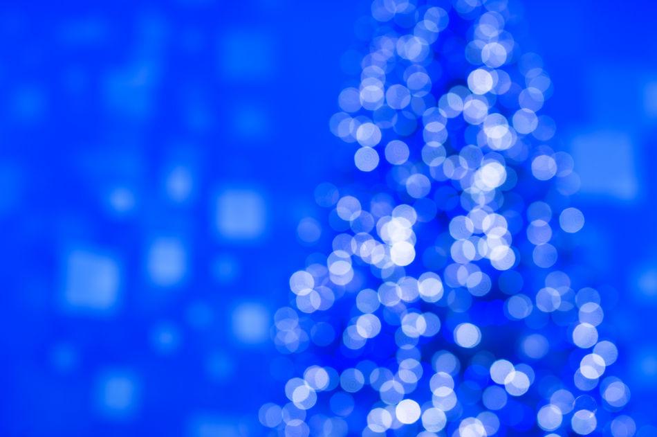 Christmas tree Abstract Backgrounds Blackandwhite Blue Blue Texture Celebration Chistmas Lights Christmas Christmas Christmas Decorations Christmas Tree Close-up Defocused Ethereal Illuminated Indoors  Lighting Equipment Night No People Shiny