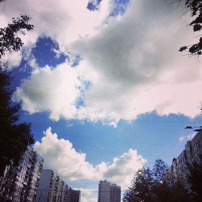 Небо ♥ небо отрадное свао осень облака москва россия sky svao autumn cloud moscow russia