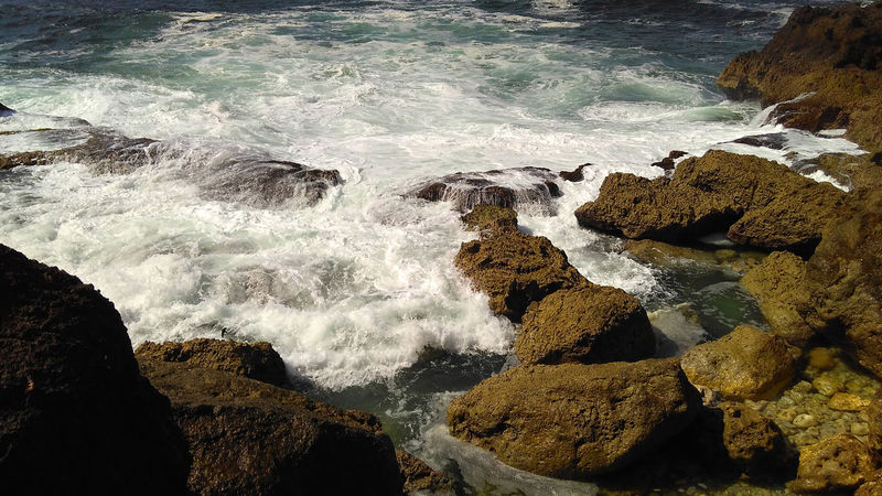 Rocky Place Beach Rocks Blue Sea Blue Wave Rock Rock Formation Rocky Wave Beach Rock Beauty In Nature Day Motion Nature No People Outdoors Power In Nature Rijallblues Rijksmuseum Rock Rock - Object Scenics Sea Water Wave Waves Crashing Waves, Ocean, Nature Been There.
