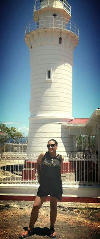 Lighthouse By The Beach