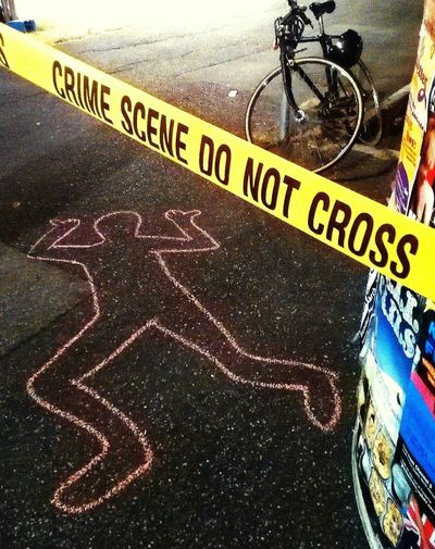 Street Photography CSI Police Death Homicide Humour Murder Street Art The Week On EyeEm Crime Scene
