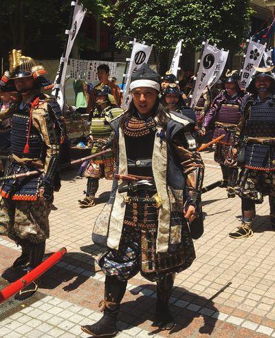 仙台青葉まつりにて。 Military Japanese Culture Japanese Festival Japanese Traditional Bushi Armor Armor And Helmet People Only Men Japanese  Japanese Photography Japanese History Sendai Clan Sendai Warrior