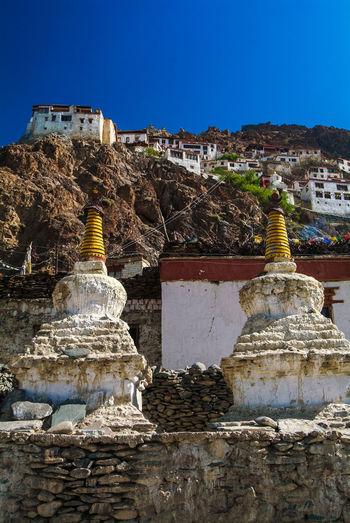 Karsha or Kursha Gompa in Zanskar Valley Folk Gompa India Jammu And Kashmir Karsha Kursha Ladakh Leh Monastery Place Of Worship Stupa Traditional Travel Zanskar