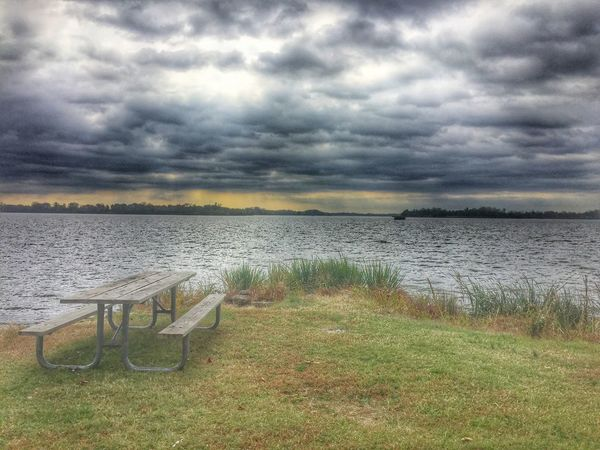 My view Water Overcast Cloud - Sky Outdoors Lakeside