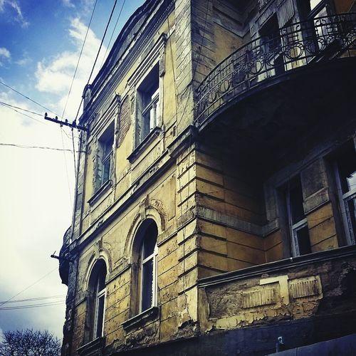Украина♥ ужгород архитектура старый дом