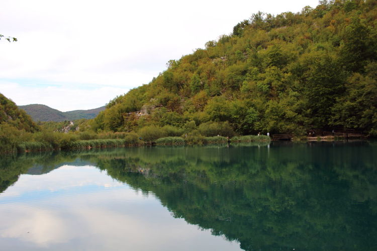 Croatia Djmarcop Trip Outdoors Scenics No People Mountain Waterfront Tranquil Scene Tree Beauty In Nature Tranquility Day Reflection Water Sky Lake Nature