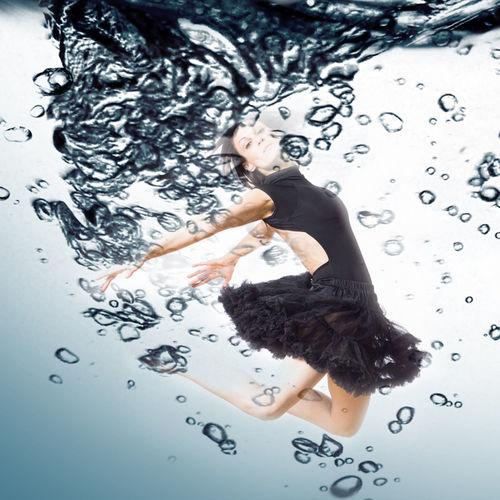 Dancer in Studio Ballet Dancer Black Tutu Dancer Movement Movement Photography Multipe Ex Photoshop Tutu Water EyeEmNewHere Dance Photography