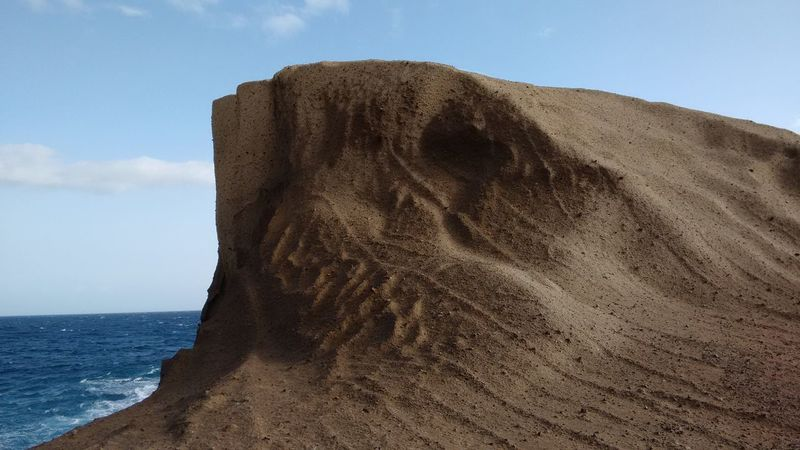 Sea Life Beach Photography Travel Photography Sea Shore Sand Landscape Beauty In Nature Silhouette And Sky Tenerife Naturelovers Structures & Lines Structures In Nature Rock Formation Rocks On The Shore Veins Of Stone