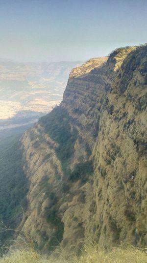 Sahyadri - Raigad Takmak Tok Fort Kokan Raigad Maharashtra India Mountain Sky Landscape Mountain Peak
