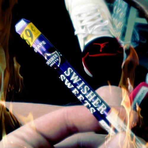 Time 2 Burn One! {^ͺ<} Grape 69Cents SwisherSweets 420 Bud AirJordans Shoes PutItInTheAir Goodtimes Hightimes Rollitup