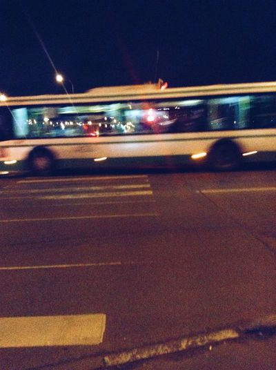 Night Bus Traffic Streetphotography Walking Alone... First Eyeem Photo