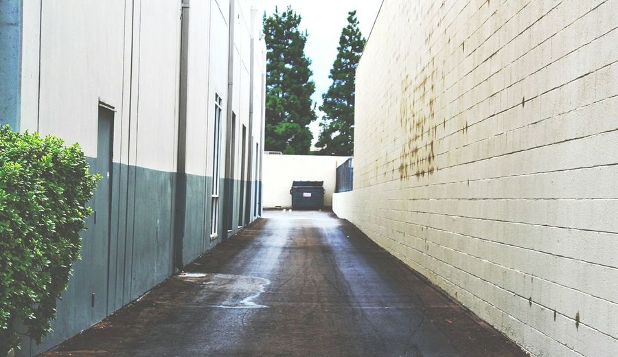 Colors And Patterns Architecture Empty The Way Forward Narrow Alley Atmospheric Mood Getting Lost Northridge